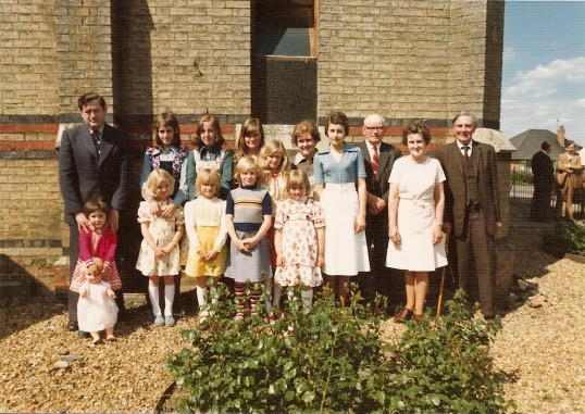 Ramsey St Mary's Methodist Church, Sunday School anniversary.