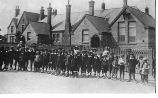 Forty Foot Bridge School 1920