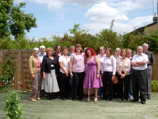 Julie Butcher's farewell at the Ramsey Community Information Centre.