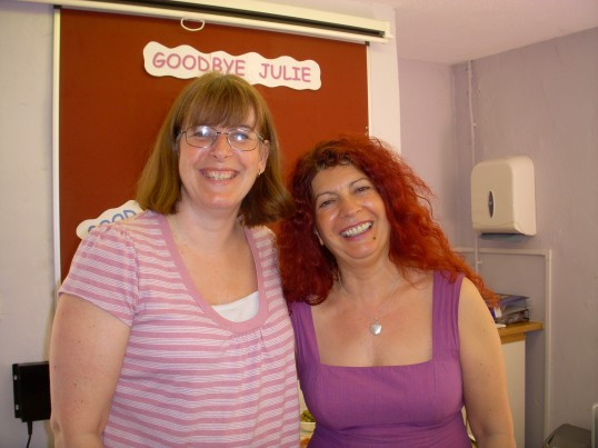 Farewell Julie. Ramsey Community Centre Office,  Manager.