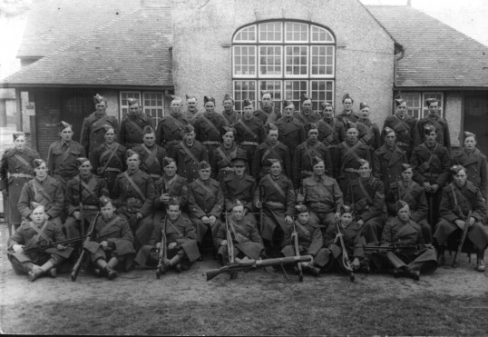 Ramsey Mereside Home Guard. First Formed 14th June 1940