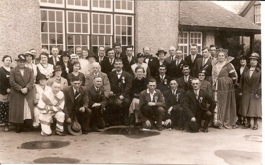 King George V Jubilee celebrations at Mereside School