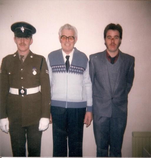 Tony, Ted & Nigel Howard at Ramsey Mereside Farm