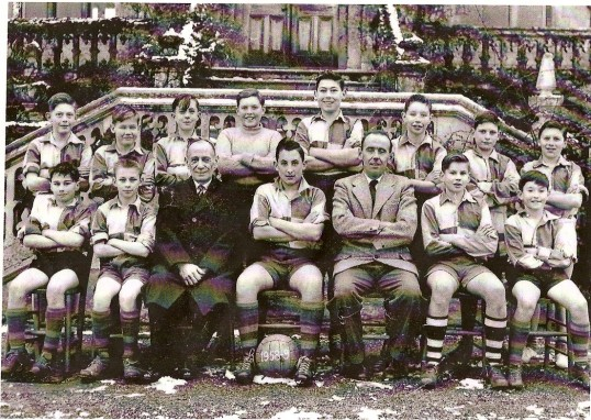 Ramsey Abbey Grammer School Under14's Football Team