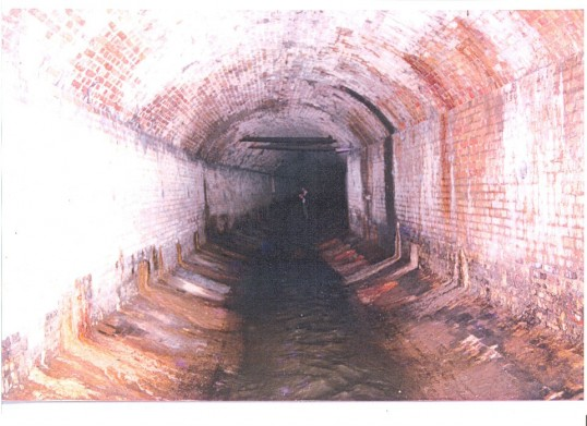 Main Central tunnel under Great Whyte