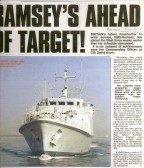 HMS Ramsey joining the fleet. Courtisy of Navy News & Ramsey Rural Museum