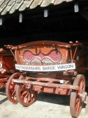 Huntingdonshire Barge Wagon. It was made by Orings of Warboys and purchased by Mr.Alfred Caton about 1911 at a price of about £30 to £40