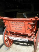 Rutland Wagon.Owned by A.W.O.Bedford and used on his farm until donated to the Ramsey Rural Museum