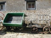 Restored Coprolite Wagon.Used to transport coprolite from the diggings to the railhead.wharves.