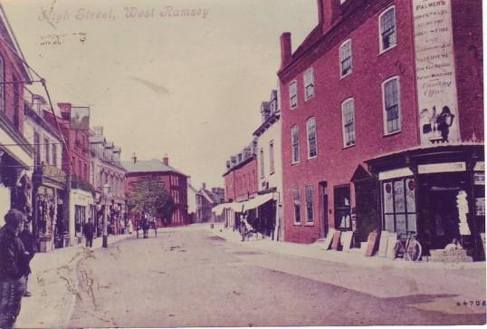 High Street, Ramsey looking west