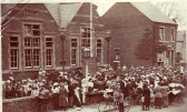 Hoisting of Union Flag at Ramsey Council School