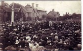 Unveiling of Ramsey War Memorial