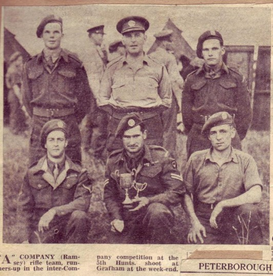 Ramsey Army Cadets in Camp at Grafham