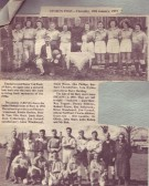 Bury Ladies and Mens Football teams