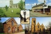 Postcard: Date unknown - (Ramsey Heights Methodist church bottom left)