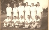 Ramsey Seconds Cricket Team with Smith Barry Junior Cup