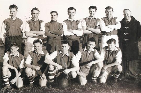 Bury Football Team 1956/57