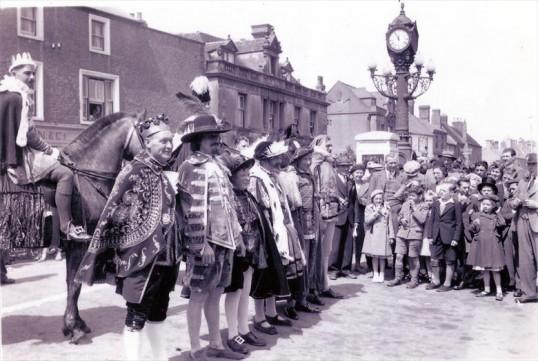Ramsey Carnival parade. Fred Slote