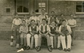 The Cricket Team, Ramsey Forty Foot Bridge School.