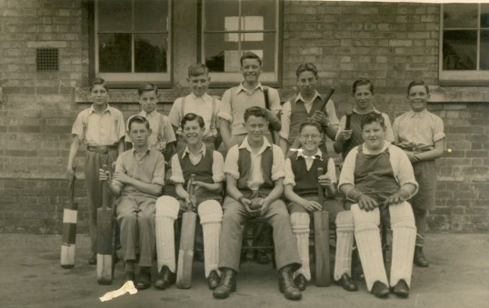 The Cricket Team, Ramsey Forty Foot Bridge School.