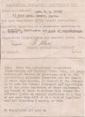 Registration Card of Mrs G.A.Howes