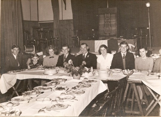 Peter Chamberlain coming of age party 29 Oct 1948