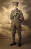 Charles Burton soldier in The Great War
