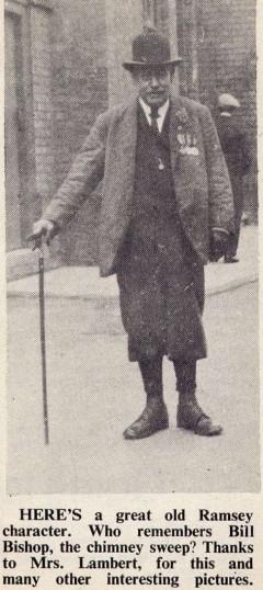 William Bishop. Chimney Sweep .