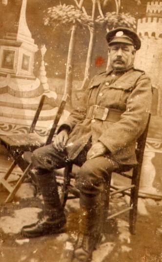 William Burton soldier in the Great War