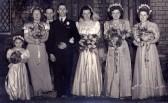 Wedding of George Burton