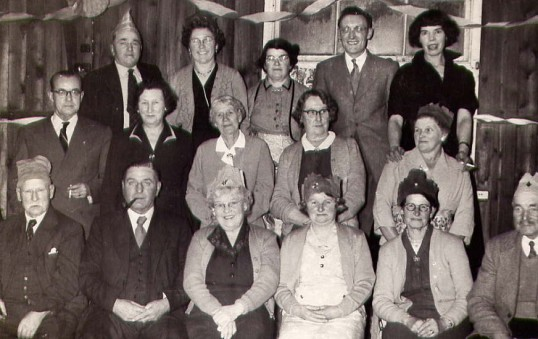 Bury Over 60's Club.1957
