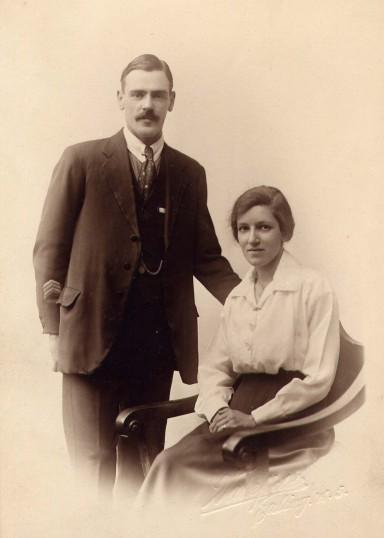 Fred and Alice Stubbs[nee Burton]