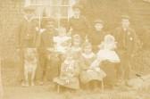 William Burton And Family