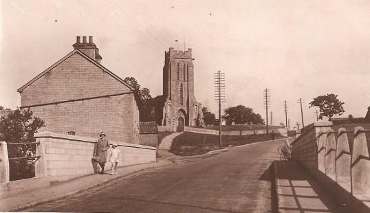 Bury Church and New Bridge