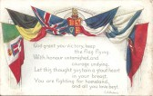 Great War. A postcard sent by Pte. J. Burton