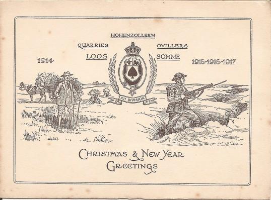 Great War Christmas Card