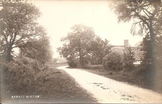 Abbotts Ripton Village