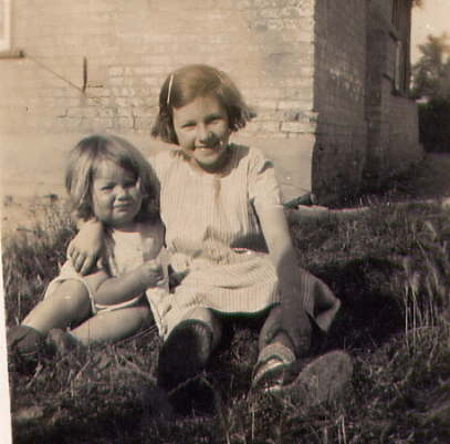 Dorothy Bishop and neighbour.