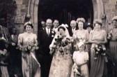 Wedding of Mr Redhead to Ruby Bishop