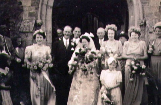 Wedding of Mr Redhead to Ruby Bishop