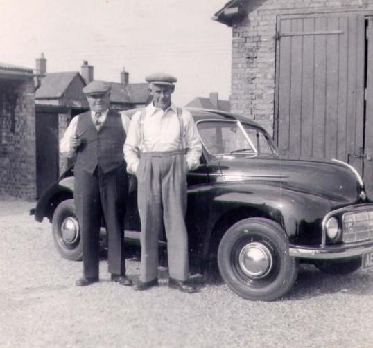 Arthur Bishop and Mr. Gamble.