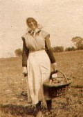 Bess Burton Potato picking