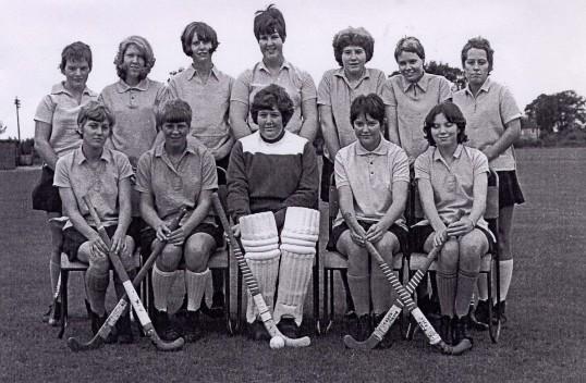 Ramsey Secondary Modern School Hockey Team.