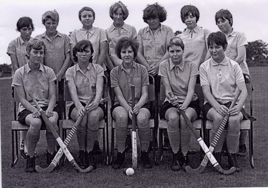Ramsey Secondary Modern School Hockey team.