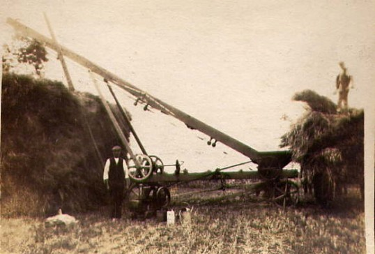 Harvesting at Mere Farm Ramsey Forty Foot