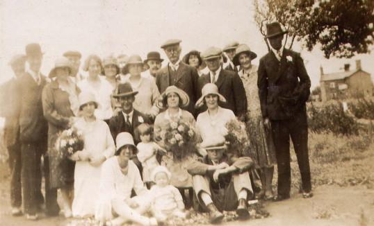Wedding of Bill and Eddie Burton