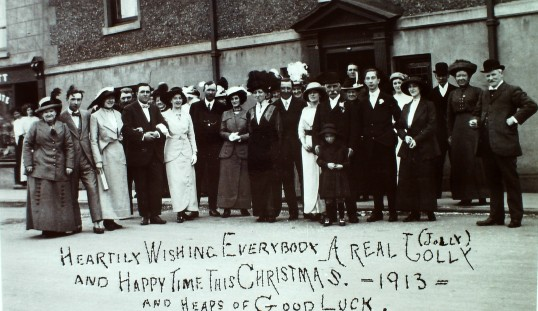 Christmas Card 1913