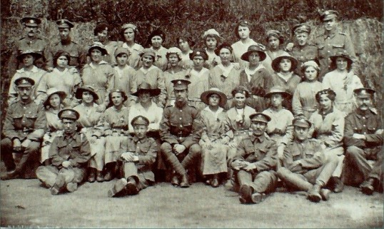 Government Staff at the Foundry, Bury, during the Great War