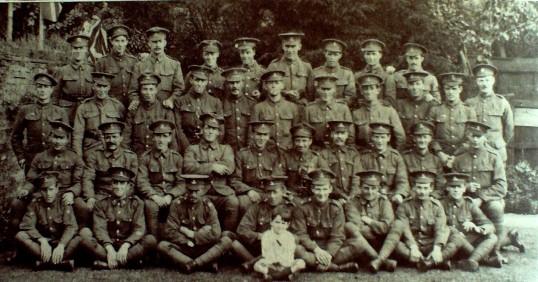 Hunts. Battalion 1914