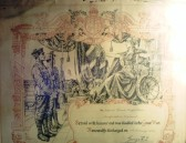 203150 Pte Hugh Shaw Beds Regiment Honourable Discharge Certificate